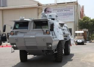 القوات الأمنية تطارد سيارة مجهولة بحي المساعيد غرب العريش
