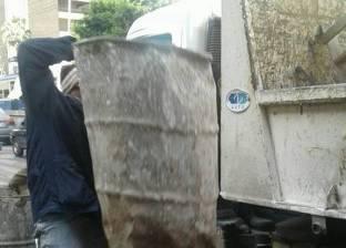 حي شرق بالإسكندرية يشن حملة لإزالة الكثل الخرسانية