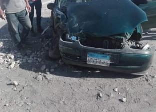 مصرع شخص وإصابة 13 في حادث انقلاب سيارة بطريق مطروح السلوم