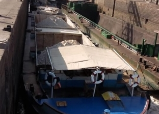 """""""النقل النهري"""": انطلاق بارجات بحمولات 11.5 ألف طن من الإسكندرية"""