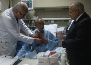 الخشت: قصر العيني سيتحول لصرح كبير ضمن خطة تطوير مستشفيات الجامعة