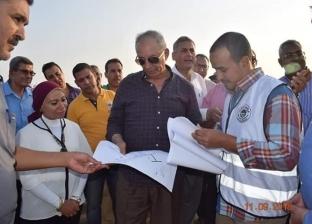 محافظ البحر الأحمر يتفقد تطوير ميناء الصيد بالشلاتين