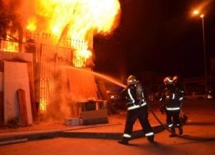 عاجل.. 18 سيارة إطفاء تخمد حريقا بمصنع سيارات في الشرقية