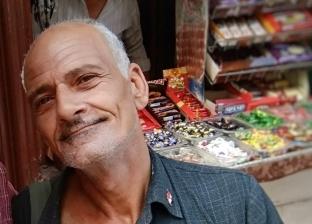 """""""اشتري لضامة لماما"""".. حكاية 50 عاما قضاها """"عبدالعزيز"""" في ترام فقوس"""