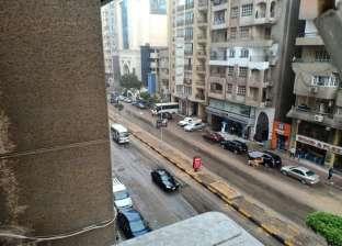 عاجل.. سقوط أمطار غزيرة على القاهرة والجيزة