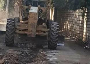 حملة نظافة مكبرة بدائرة مدينة أخميم بسوهاج