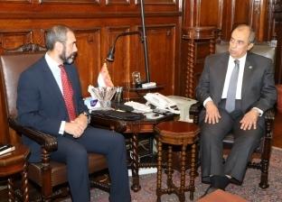 وزير الزراعة يستقبل القائم بأعمال ممثل الفاو في مصر