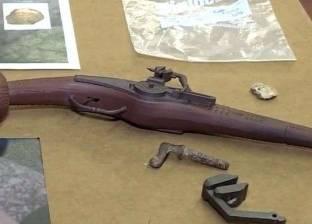 بالفيديو| اكتشاف قد يغير تاريخ أمريكا.. العثور على أقدم مسدس في العالم