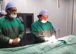 بعد يوم من افتتاحه.. إجراء عملية قسطرة قلب لمريض بمستشفى العريش العام