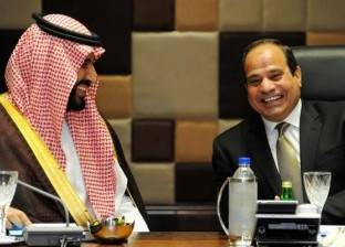 مميش يستعرض أهمية القناة الجديدة أمام السيسي ومحمد بن سلمان