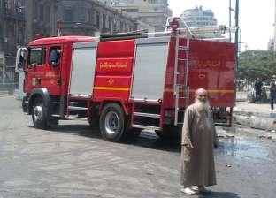 سائق يشعل النيران في مخزن مضبوطات جهاز مدينة العبور