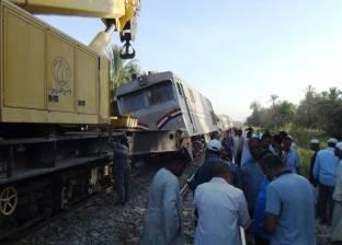 ارتباك حركة القطارات في أسوان بسبب حادث القطار 982
