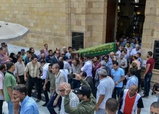 تشييع جنازة الفنان جميل راتب من الجامع الأزهر