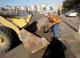 حملات مكثفة لتطوير المسطحات الخضراء بأحياء بورسعيد