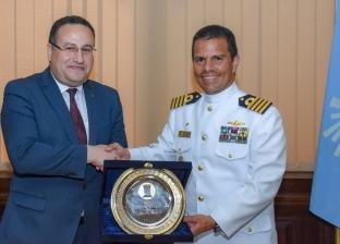 محافظ الإسكندرية يستقبل سفير البرازيل لدى مصر لبحث سبل التعاون