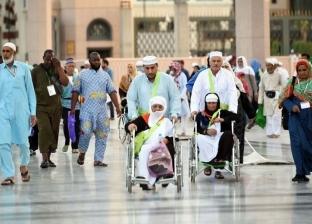 14 مصلى لذوي الاحتياجات الخاصة في المسجد النبوي.. و600 زيارة للروضة