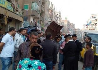 تحرير 200 محضر إشغالات بمركز مغاغة في المنيا