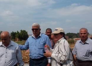 بالصور  بروتوكول بين وزارتي البيئة والزراعة بالغربية لإعادة تدوير قش الأرز