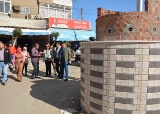 محافظ دمياط تلزم أصحاب المحال التجارية بكفر سعد بوضع صناديق القمامة