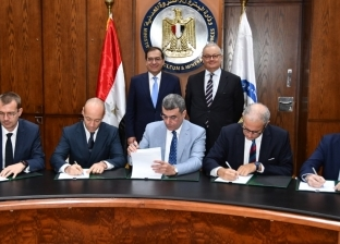 وزير البترول يشهد توقيع اتفاقيةقرض تمويل مشروع توسعات معمل ميدور