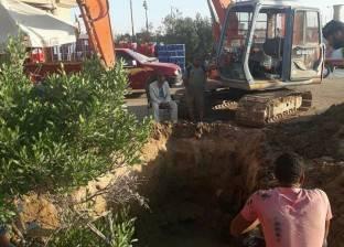 إعادة توصيل المياه لقريتي العمدة وأبو سيال في السويس