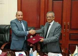 اتفاقية تعاون بين جامعة بني سويف وهيئة الطاقة الذرية