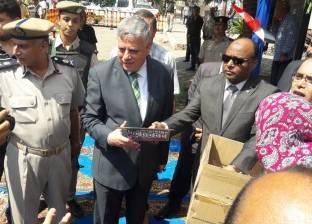 تحرير 24 بلاغ حرائق ووقاية من المفرقعات في حملات أمنية بشوارع الغربية
