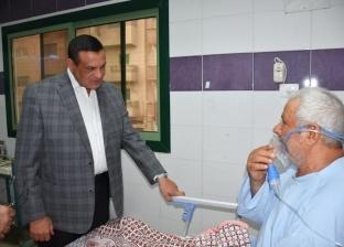 """محافظ البحيرة يشدد على حسن معاملة المرضى بمستشفى """"صدر دمنهور"""""""
