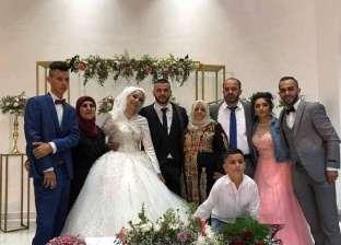 """""""حياتهم الصمود"""".. أب يترك زفاف ابنته لاعتصام الخان الأحمر والعروس تنضم"""