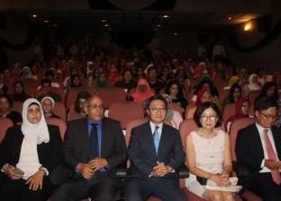 """السفير الكوري ورئيس التنمية الثقافية يفتتحان """"أسبوع الأفلام الكورية"""""""