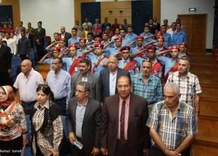 ندوة عن المشروعات العملاقة والاحتفال بانتصارات أكتوبر بميناء دمياط