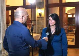 """المشاط تعقد لقاءين تليفزيونيين مع """"BBC"""" على هامش زيارتها لـ""""بلغاريا"""""""