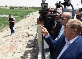 رئيس الوزراء: لاحظت تعديات على الأراضي الزراعية بالإسماعيلية