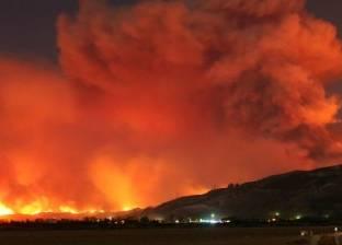 مقاطعة كندية تعلن الطوارىء لمكافحة حرائق الغابات