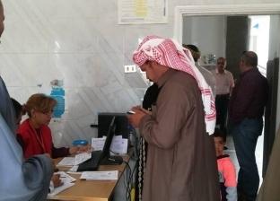 توافد المواطنين على مراكز الفحص بحملة 100 مليون صحة في جنوب سيناء
