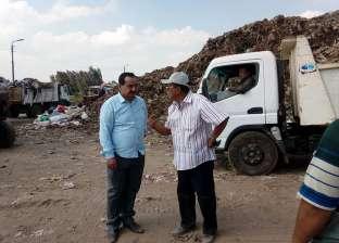 بالصور  رئيس مجلس المحلة: رفع 50 ألف من أطنان أكوام القمامة