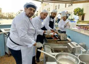 """انطلاق مسابقة الفرق الجماعية لمهرجان """"الطهاة العرب"""" بـ""""رأس سدر"""""""
