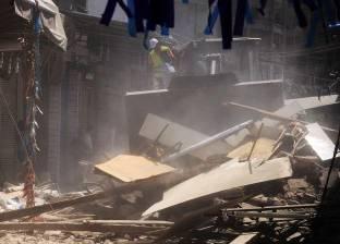 عاجل| مصرع سيدة و3 من أبنائها إثر انهيار عقار في الشرابية