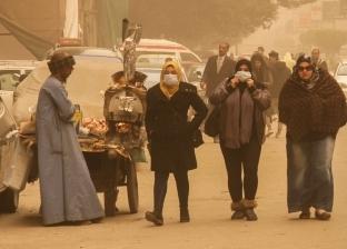 عواصف ترابية وأمطار.. 50 صورة ترصد سوء الأحوال الجوية في مصر