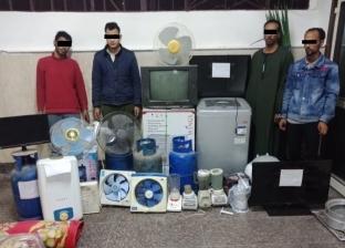 """سقوط عصابة """"محمد ويوسف"""" لسرقة الأجهزة الكهربائية من شقق عين شمس"""