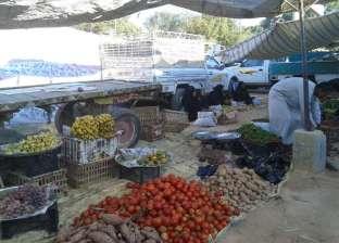 نقل الباعة الجائلين بإسنا في الأقصر من وسط المدينة إلى السوق الجديدة