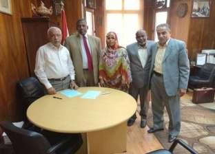 """""""البناء والأخشاب"""" توقع بروتوكول تعاون مع اتحاد عمال ولاية الخرطوم بالسودان"""