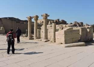 الصغير: 680 سائحا زاروا معبد دندرة خلال 5 أيام