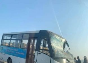 """بعد حادث أتوبيس الهرم.. """"التضامن"""" تكثف حملات الكشف عن المخدرات بين سائقي حافلات المدارس"""