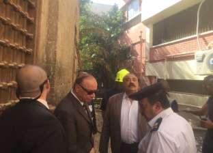 """السيطرة على حريق بـ""""كلوت بك"""" وسط القاهرة دون خسائر بشرية"""