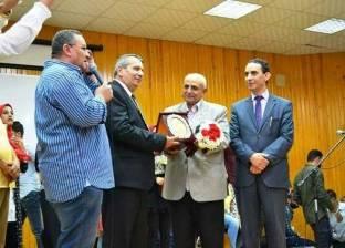 جامعة المنصورة تكرم أبطال حرب أكتوبر