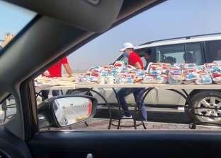 بلالين وتوزيع وجبات وهدايا على الأطفال.. العيد فرحة في كارتة السويس