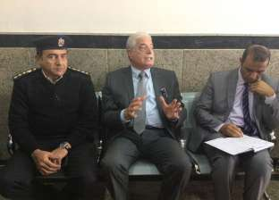 بالصور| محافظ جنوب سيناء يطالب بسرعة تشغيل وحدة مرور مدينة دهب