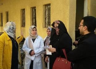 جولة تفقدية للرقابة على المنظومة الدوائية بمستشفى منيا القمح