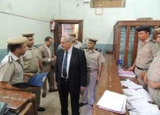مدير أمن أسيوط يتفقد المنشآت الأمنية بالمحافظة